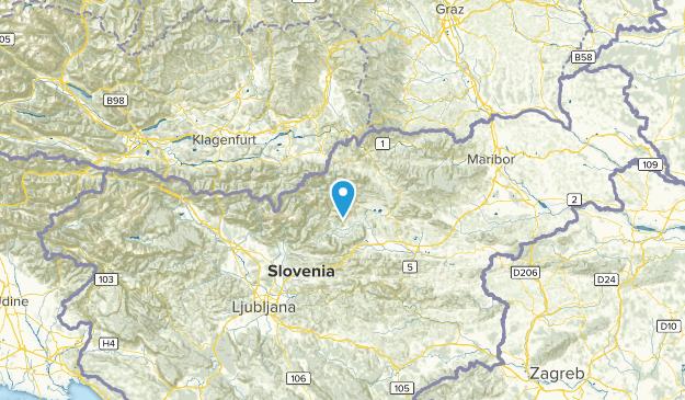 Šoštanj, Slovenia Cities Map