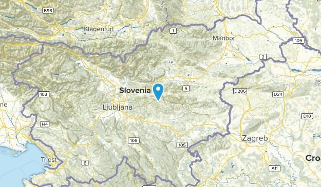 Zasavska, Slovenia Cities Map