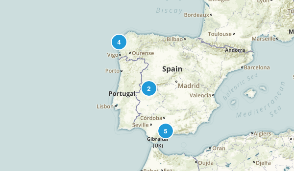 A Coruña, Spain Map