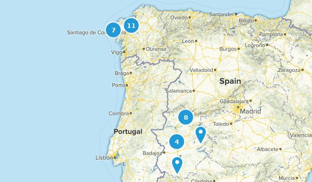 Map Of Spain Extremadura.Best Trails In Extremadura Spain Alltrails