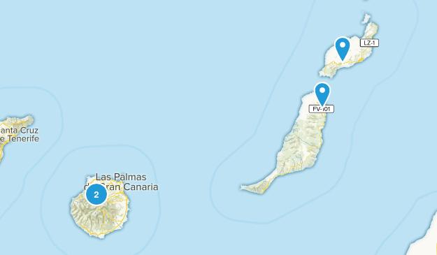 Las Palmas, Spain Map