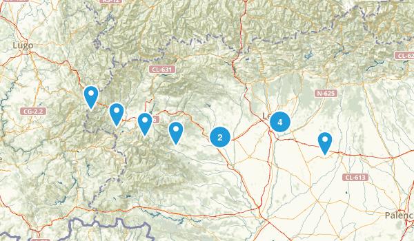 León, Spain Map