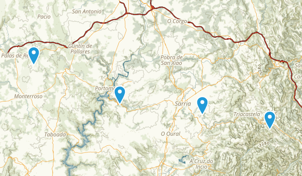 Lugo, Spain Map