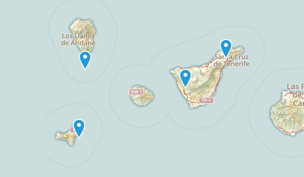 Santa Cruz de Tenerife, Spain Map