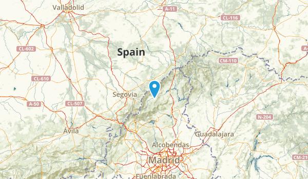 Segovia, Spain Map