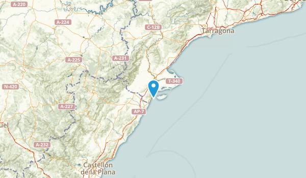 Tarragona, Spain Map