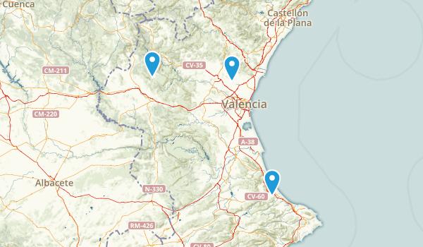 Valencia, Spain Map