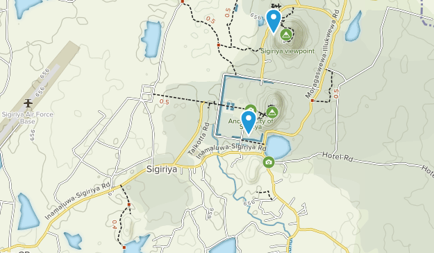 Matale, Sri Lanka Map