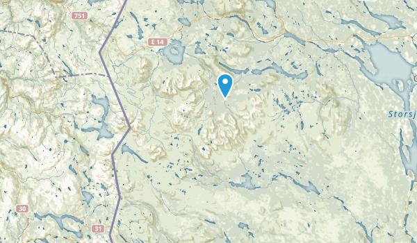 Jämtland, Sweden Map