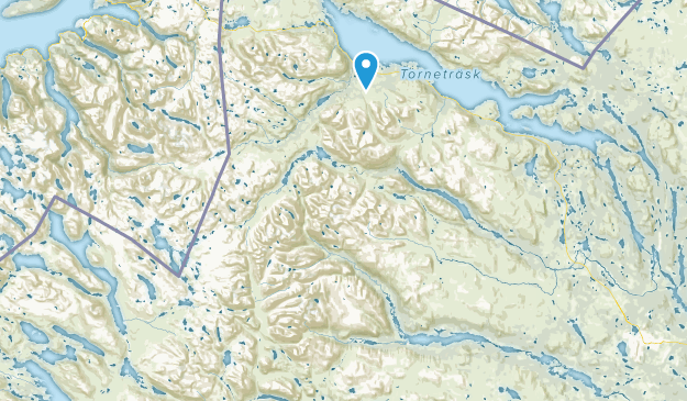 Norrbottens län, Sweden Map