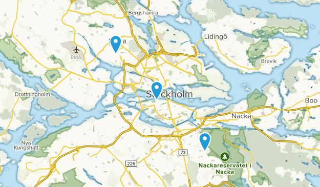 Stockholm, Sweden Map