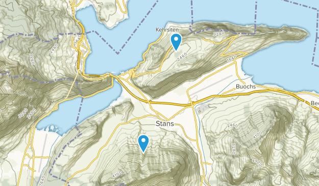 Nidwald, Switzerland Map