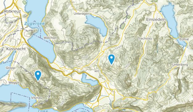 Schwyz, Switzerland Map