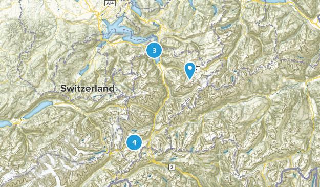 Uri, Switzerland Cities Map