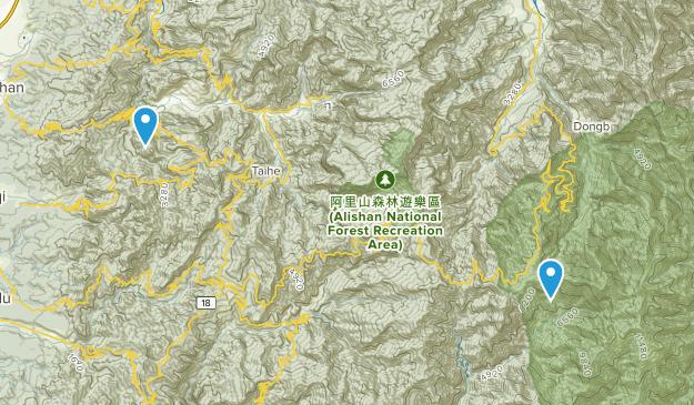 Chiayi, Taiwan Map