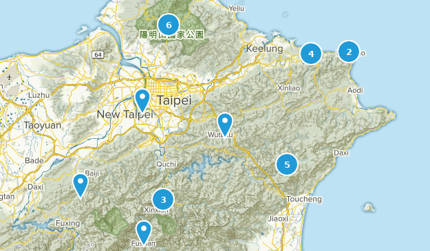 New Taipei City, Taiwan Map