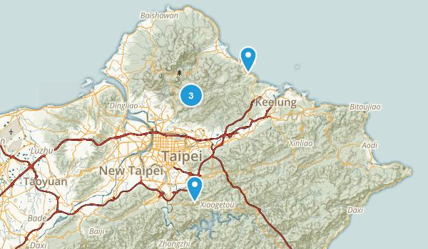 Taipei City, Taiwan Map