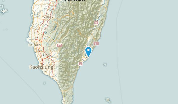 Taitung, Taiwan Map
