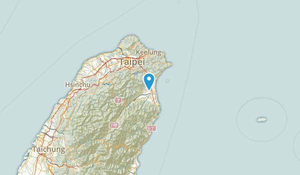 Yilan, Taiwan Map