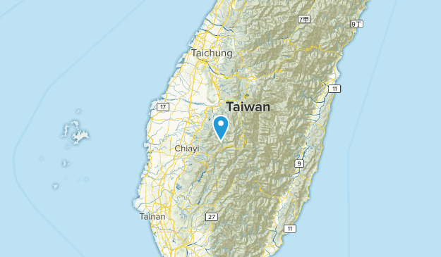 Yunlin, Taiwan Cities Map
