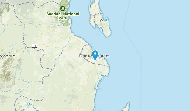 Dar-Es-Salaam, Tanzania Cities Map