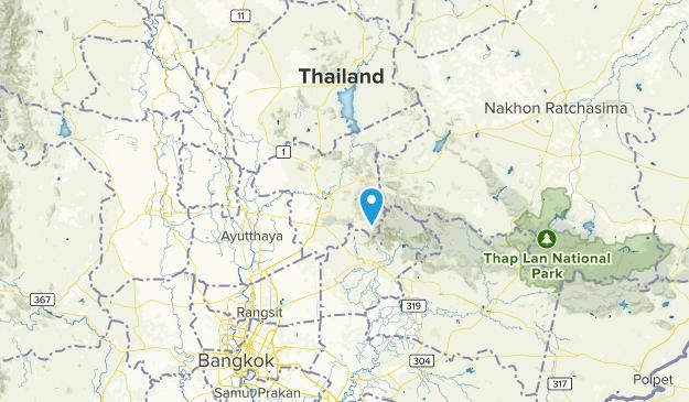 Saraburi, Thailand Map