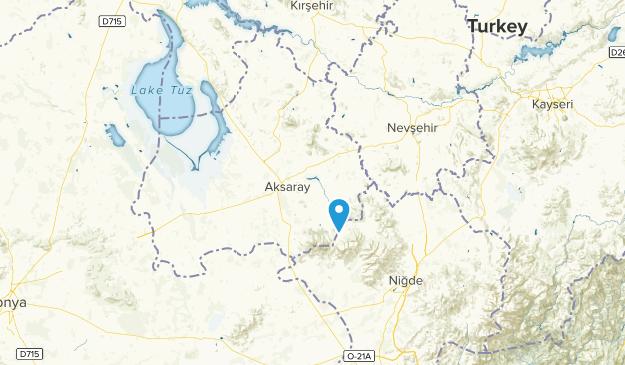 Aksaray, Turkey Map
