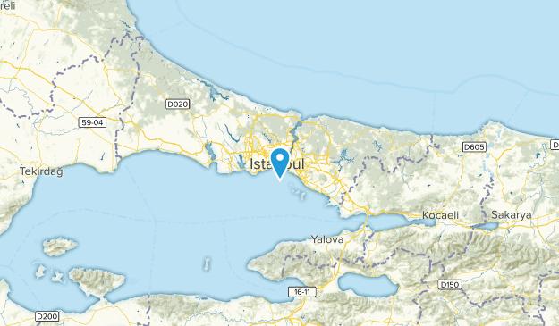 Istanbul, Turkey Map