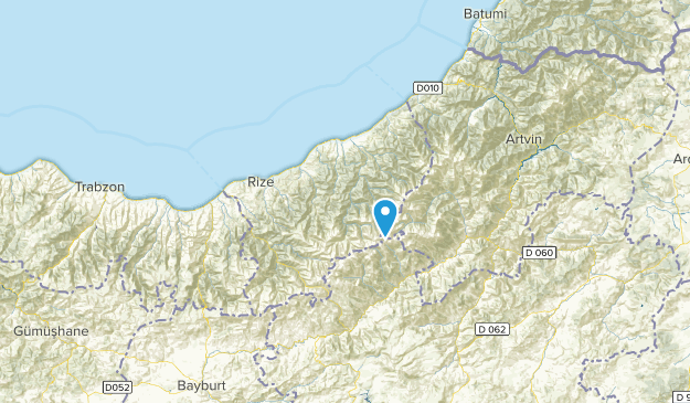 Rize, Turkey Cities Map