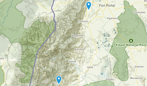 Kabarole, Uganda Map