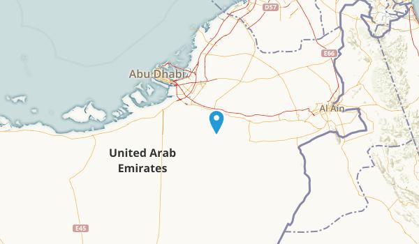 Abu Dhabi, United Arab Emirates Map