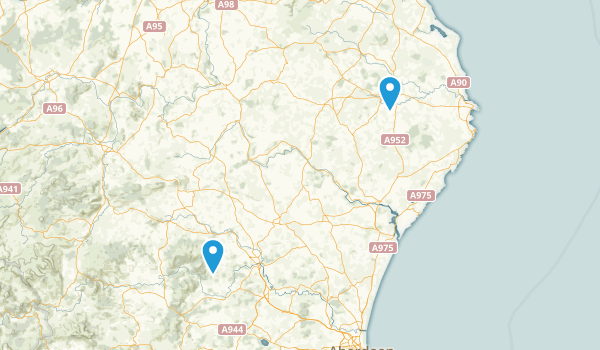 Aberdeenshire, United Kingdom Map