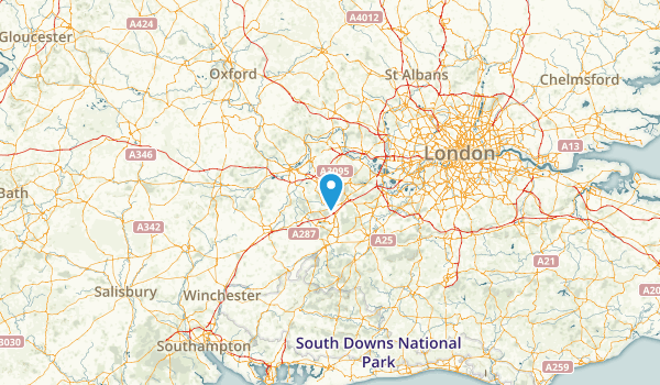 Bracknell Forest, United Kingdom Map