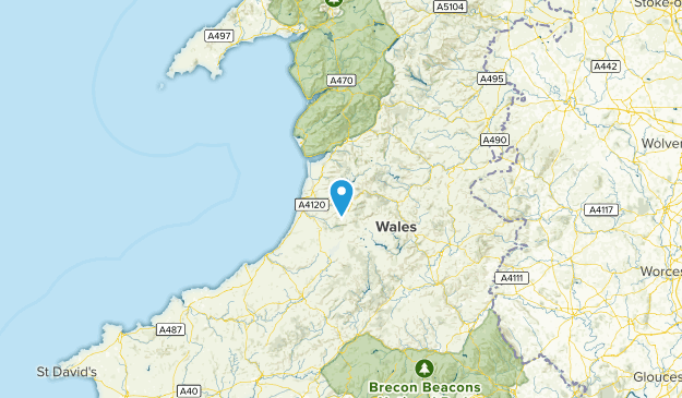 Ceredigion, United Kingdom Map