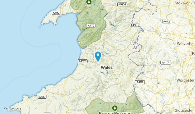 CGN, United Kingdom Map