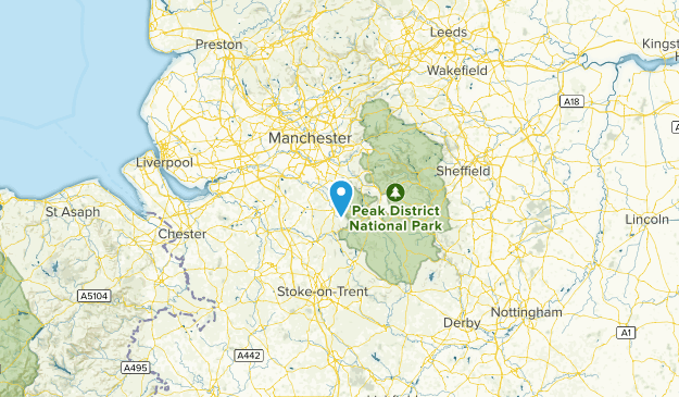 Cheshire East, United Kingdom Cities Map