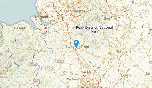 City of Stoke-on-Trent, United Kingdom Map
