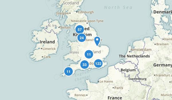 England, United Kingdom Map