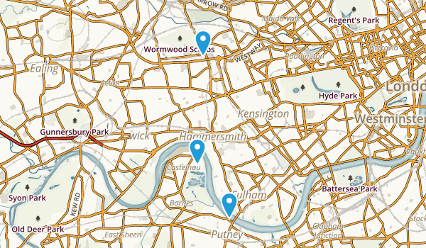 Hammersmith and Fulham, United Kingdom Map