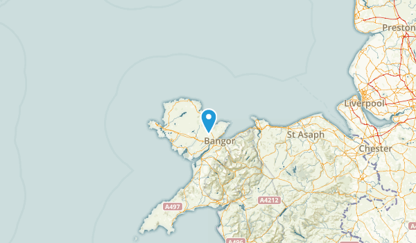 Isle of Anglesey, United Kingdom Map