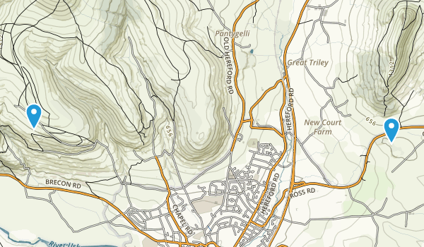 Monmouthshire, United Kingdom Map