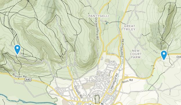 Monmouthshire, United Kingdom Map