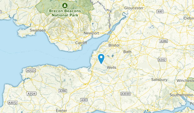 North Somerset, United Kingdom Map
