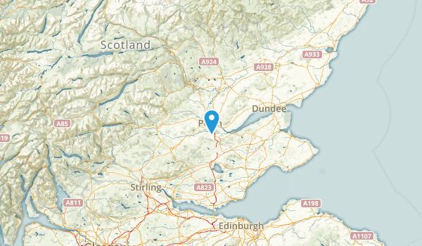 Perth and Kinross, United Kingdom Map