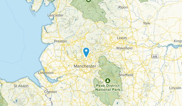 Rochdale, United Kingdom Map