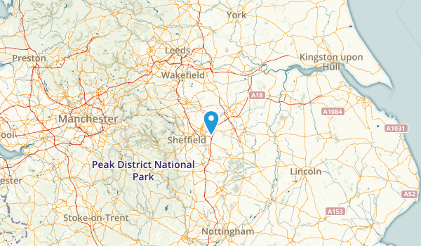 Rotherham, United Kingdom Map