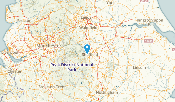 Sheffield, United Kingdom Map