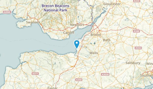 Somerset, United Kingdom Map