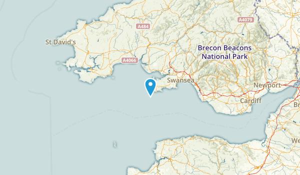 Swansea, United Kingdom Map