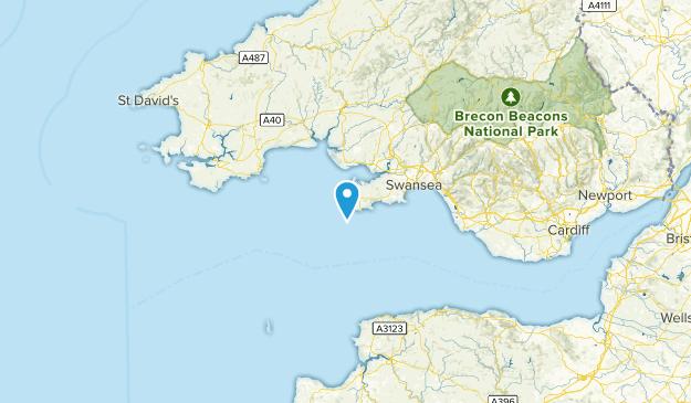 Swansea, United Kingdom Cities Map